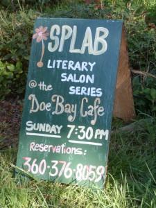 SPLAB @ Doe Bay Sign