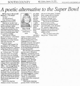 Article from Mary Swift about Paul Nelson