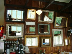Maryna in Mirrors @ Doe Bay Cafe