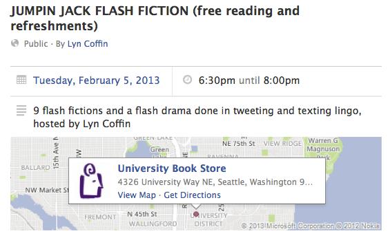 Jumpin Jack Flash Fiction