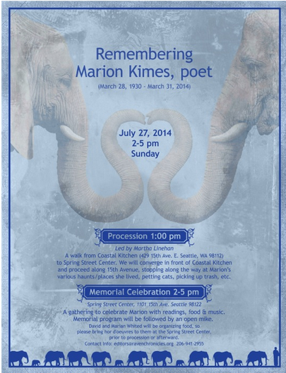 Marion Kimes Memorial