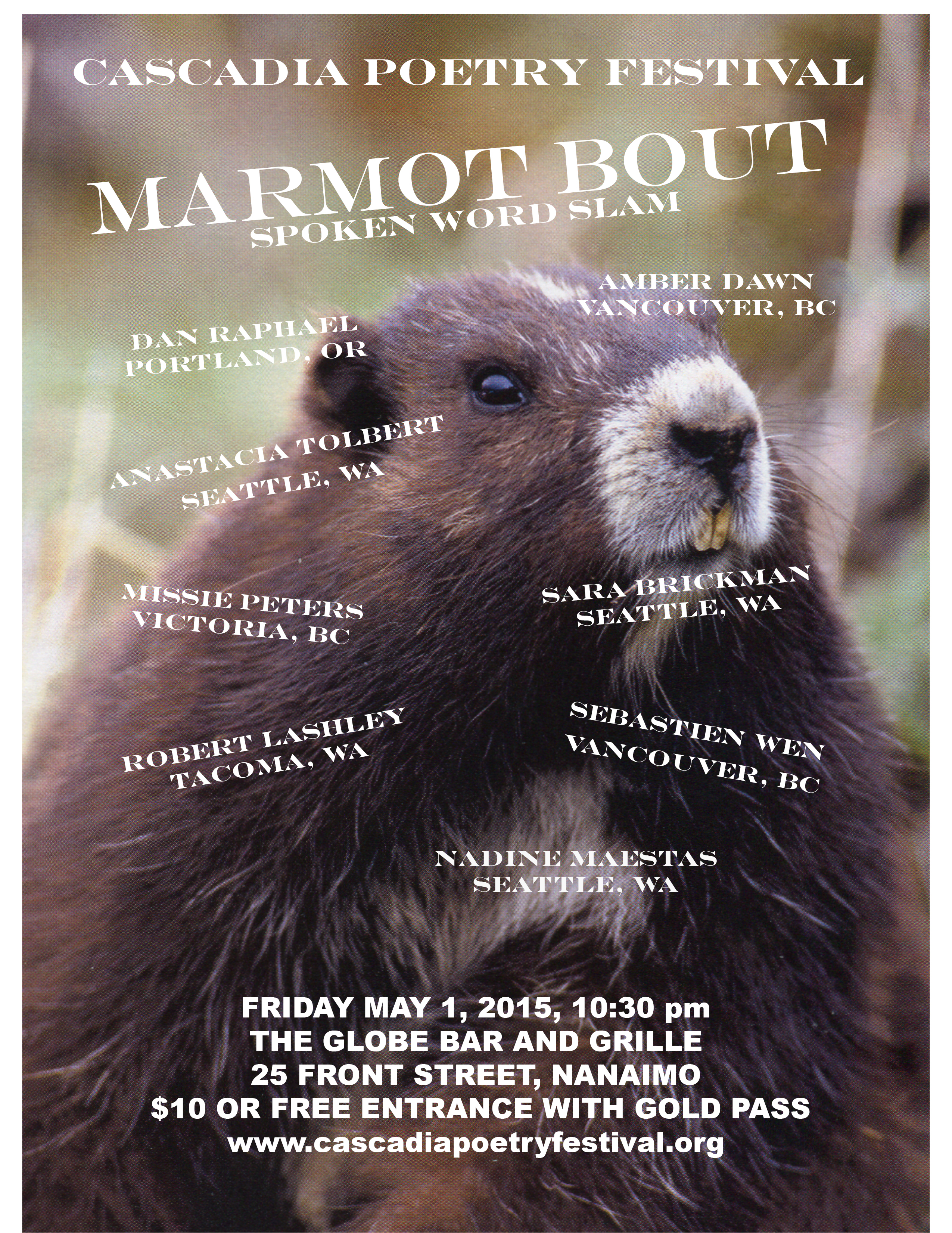 Marmot Bout Poster