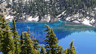 Crater Lake Photo by Meredith Nelson