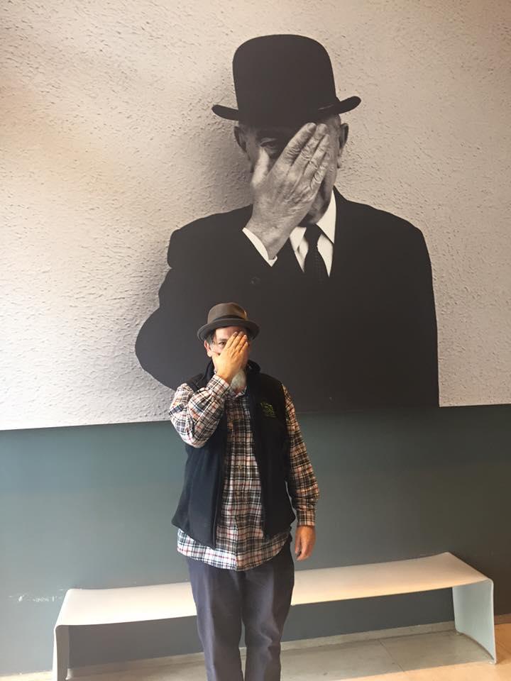 Paul E Nelson @ Magritte Museum