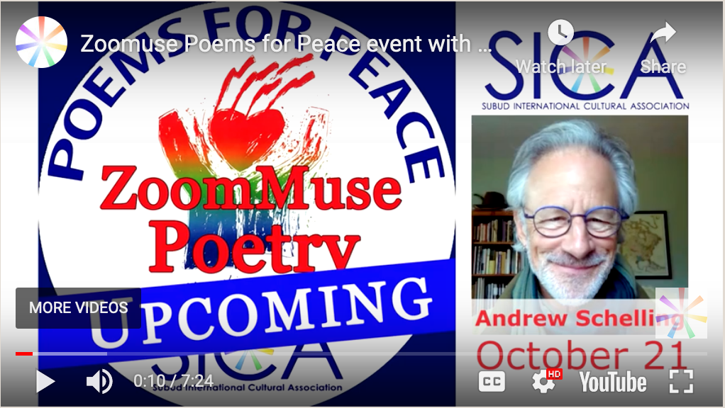 Poems for Peace with Andrew Schelling